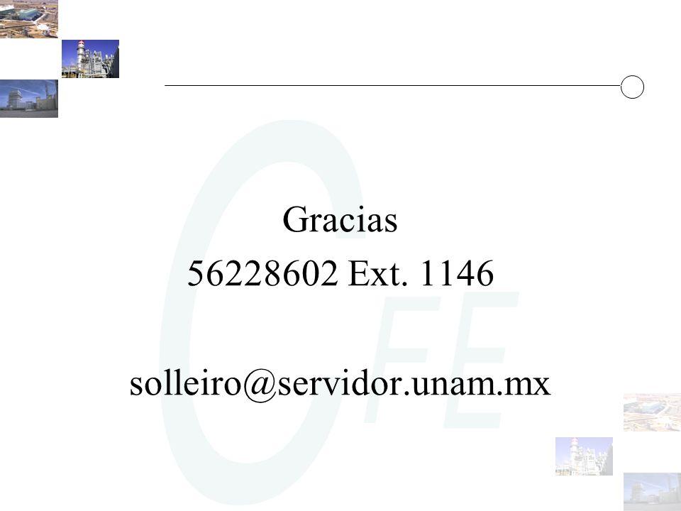 Gracias 56228602 Ext. 1146 solleiro@servidor.unam.mx