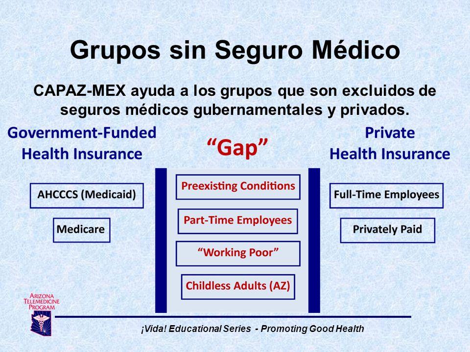 Grupos sin Seguro Médico