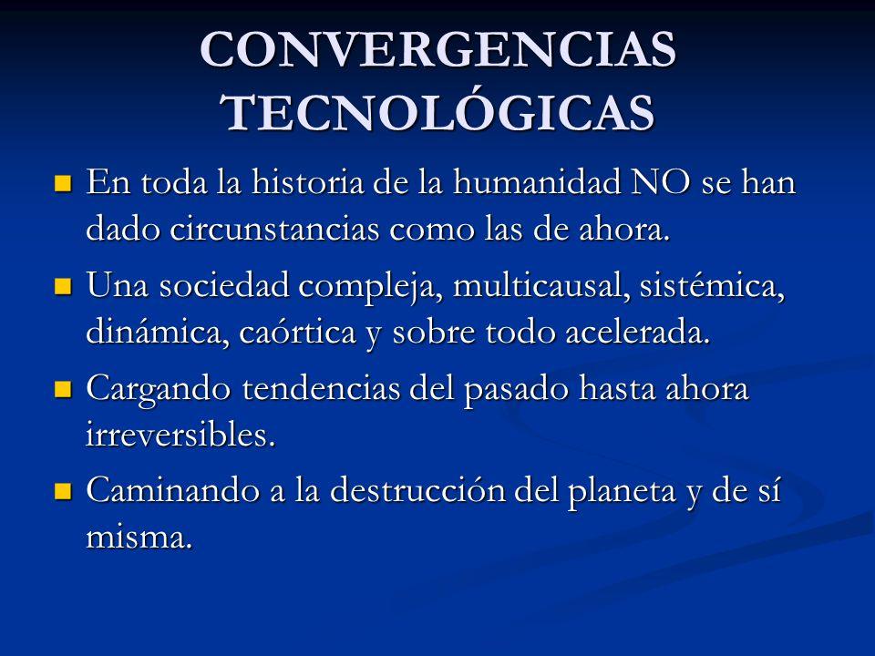CONVERGENCIAS TECNOLÓGICAS