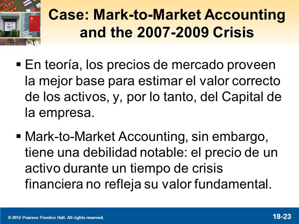 Case: La Regulación de Proteger al Consumidor y la Crisis 2007-2009
