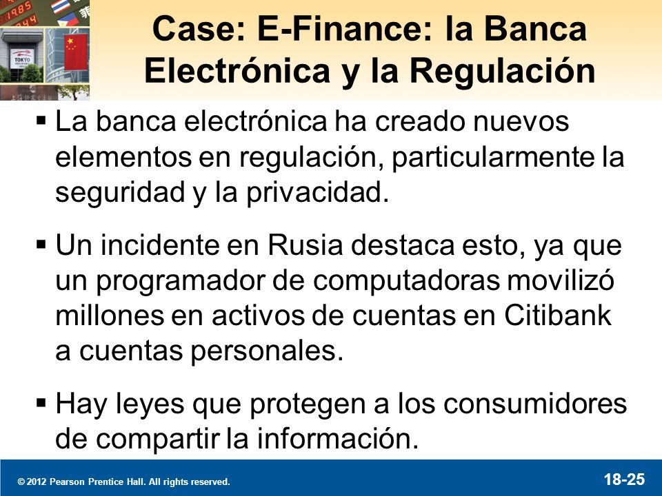 Regulación de la Banca Internacional