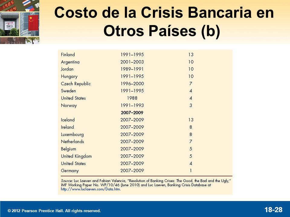 La Crisis Bancaria a Través del Mundo