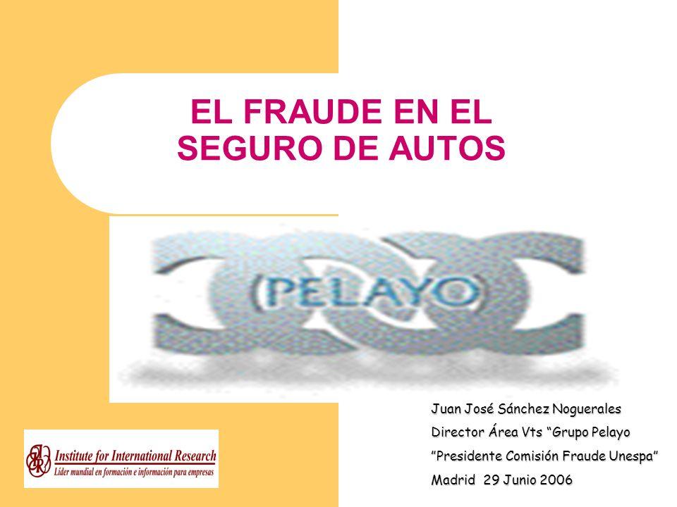 EL FRAUDE EN EL SEGURO DE AUTOS