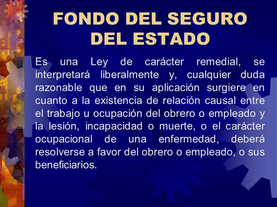 FONDO DEL SEGURO DEL ESTADO