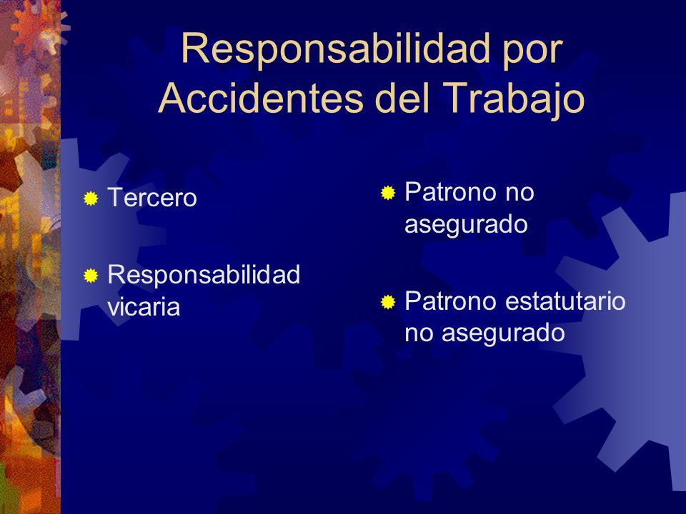 Responsabilidad por Accidentes del Trabajo