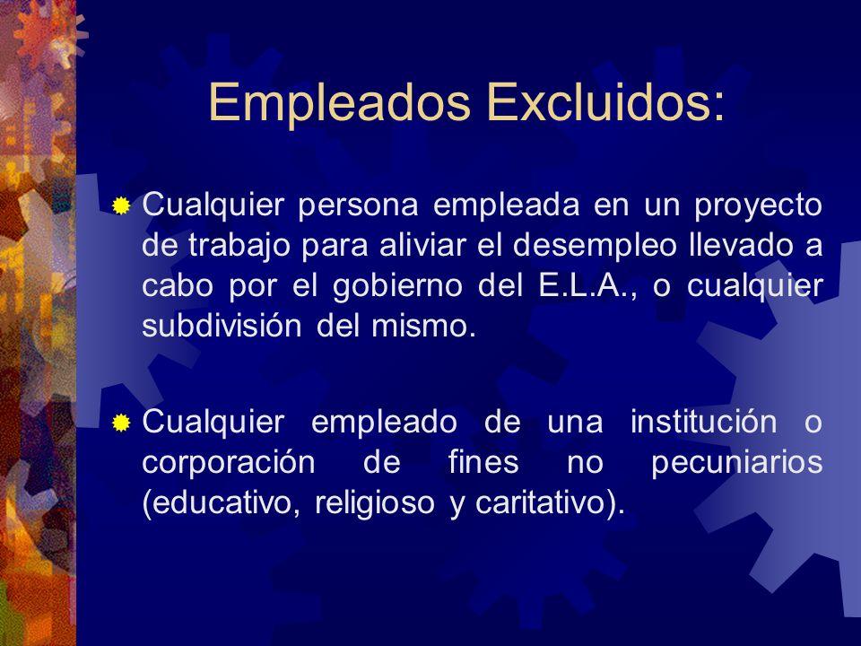 Empleados Excluidos: