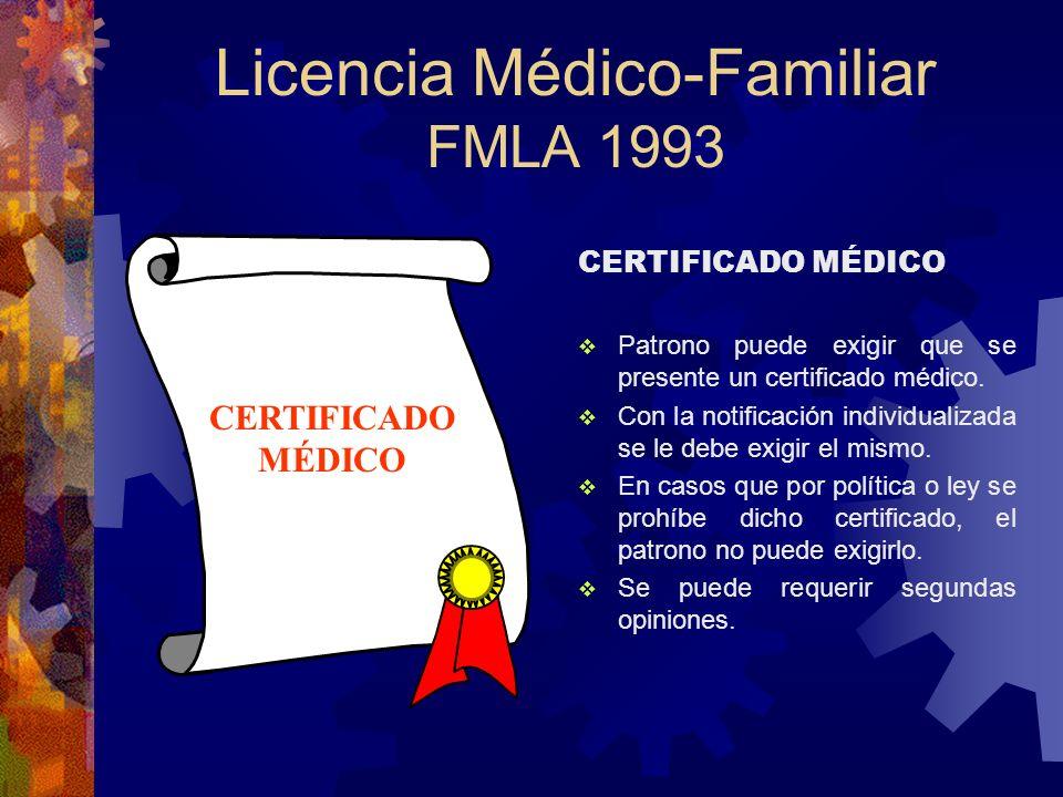 Licencia Médico-Familiar