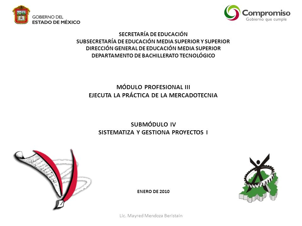 MÓDULO PROFESIONAL III EJECUTA LA PRÁCTICA DE LA MERCADOTECNIA