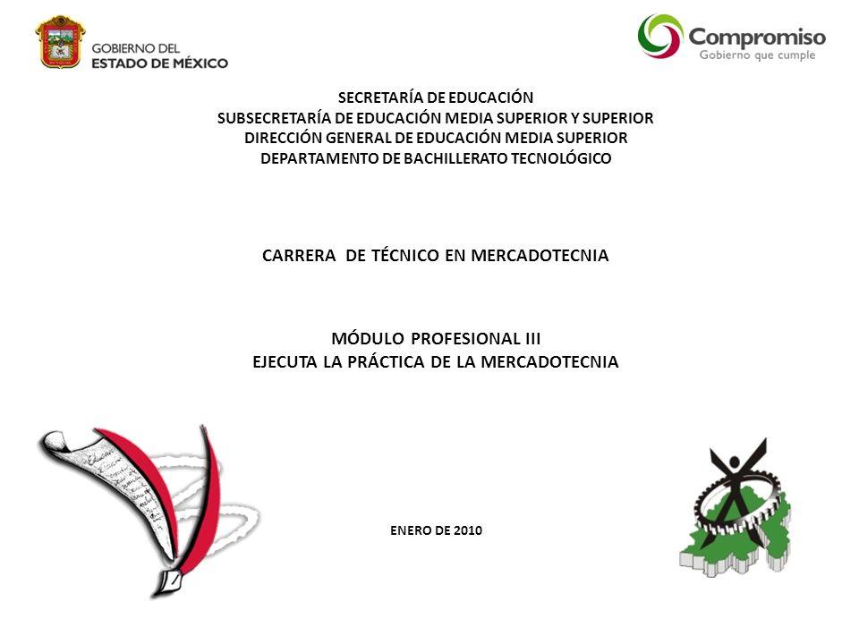 CARRERA DE TÉCNICO EN MERCADOTECNIA