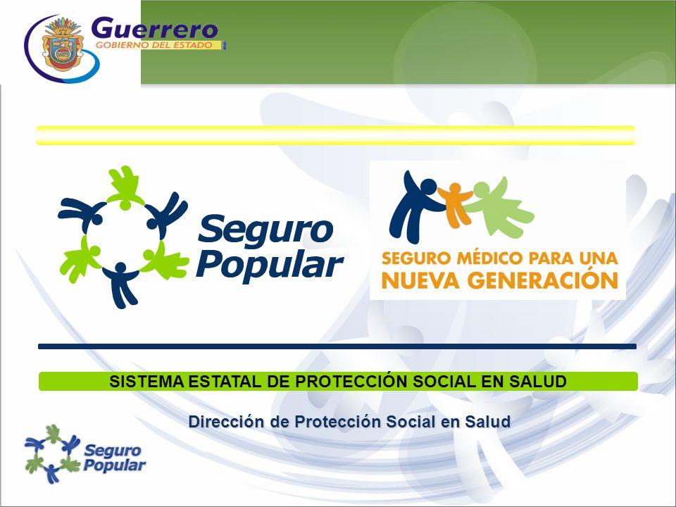 SISTEMA ESTATAL DE PROTECCIÓN SOCIAL EN SALUD