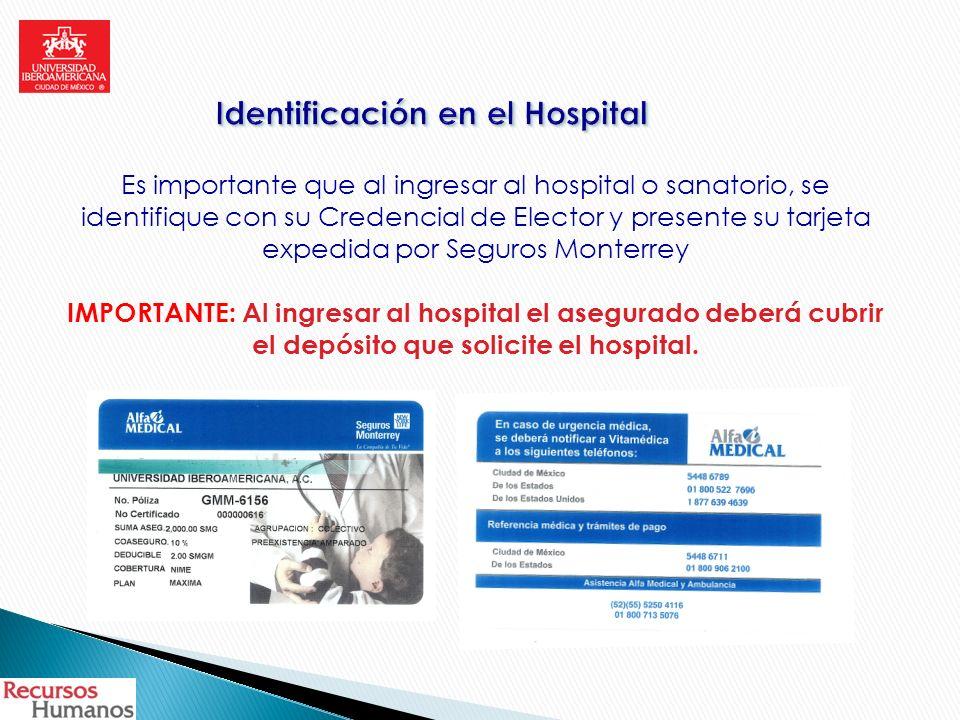 Identificación en el Hospital
