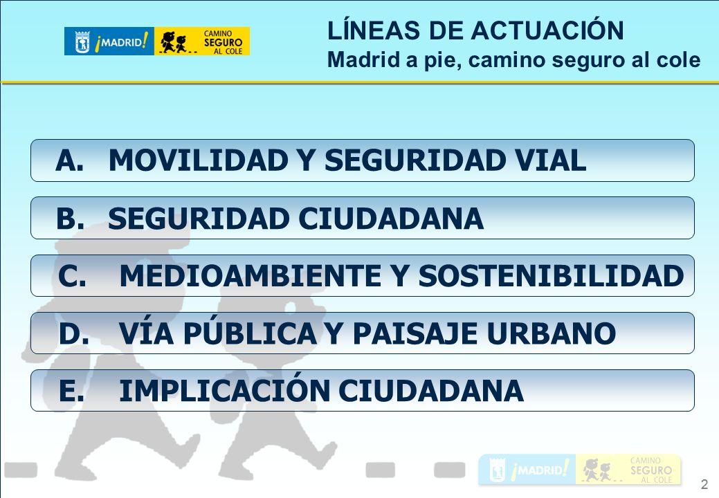 A. MOVILIDAD Y SEGURIDAD VIAL