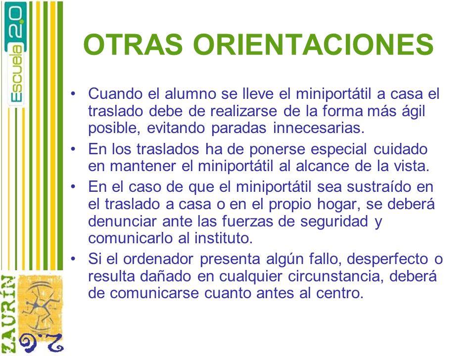 OTRAS ORIENTACIONES