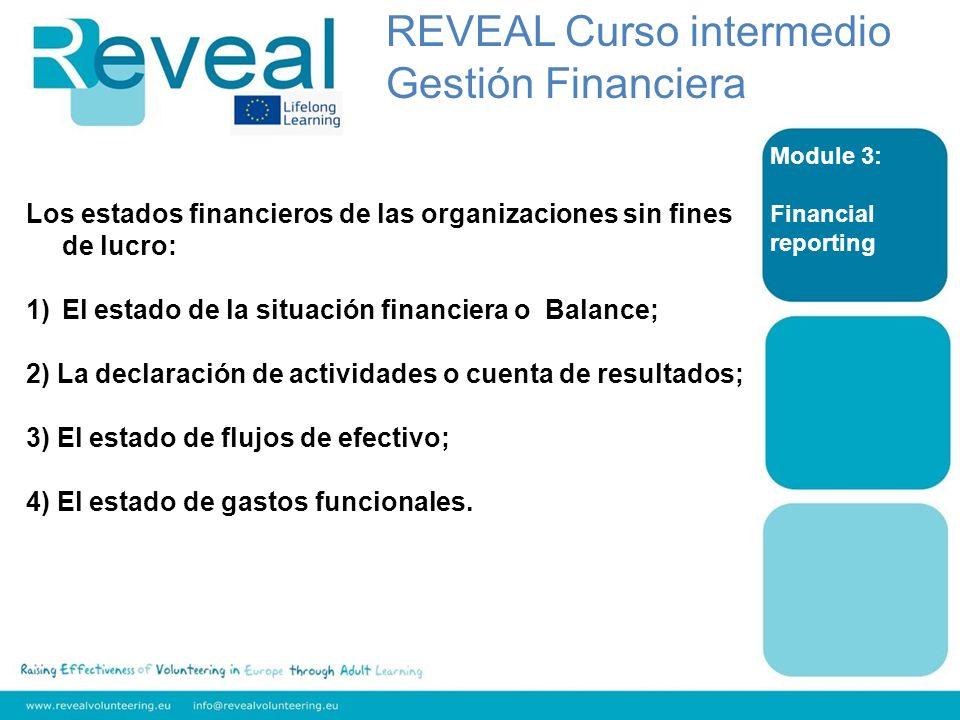REVEAL Curso intermedio Gestión Financiera