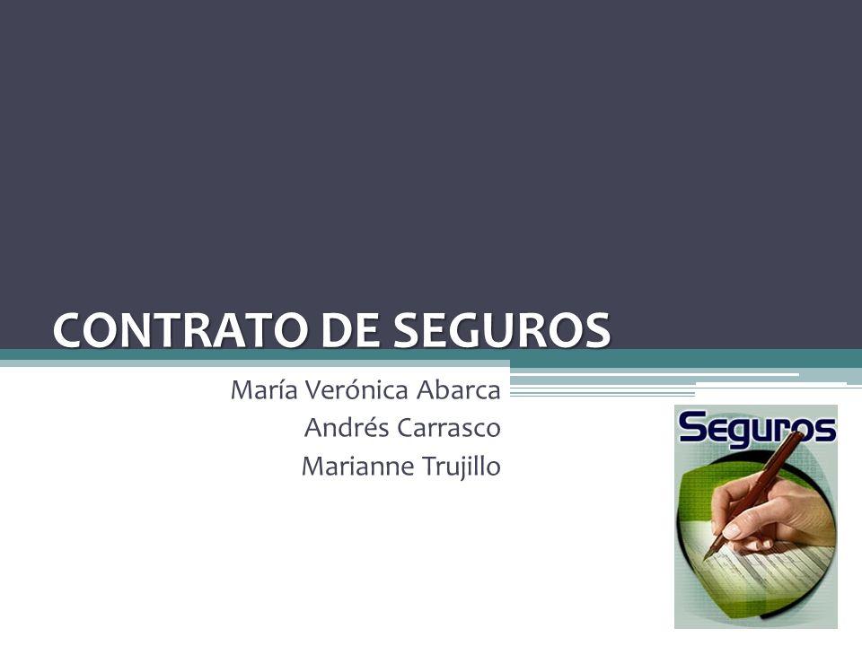 María Verónica Abarca Andrés Carrasco Marianne Trujillo