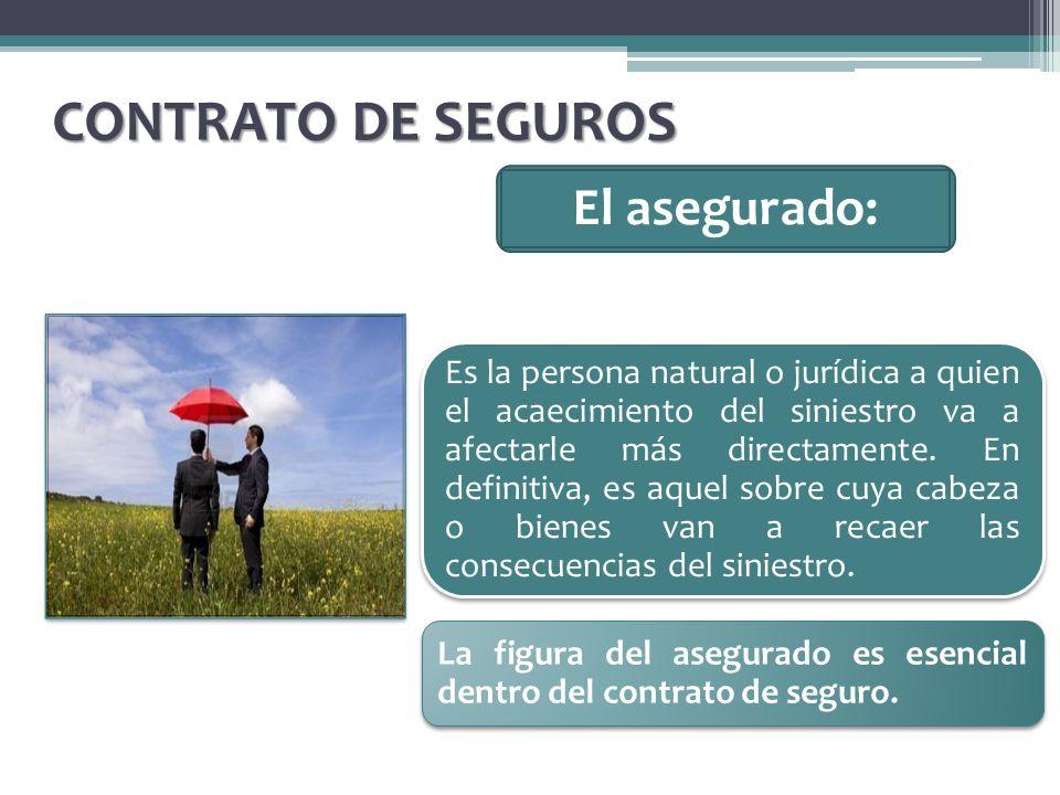 CONTRATO DE SEGUROS El asegurado: