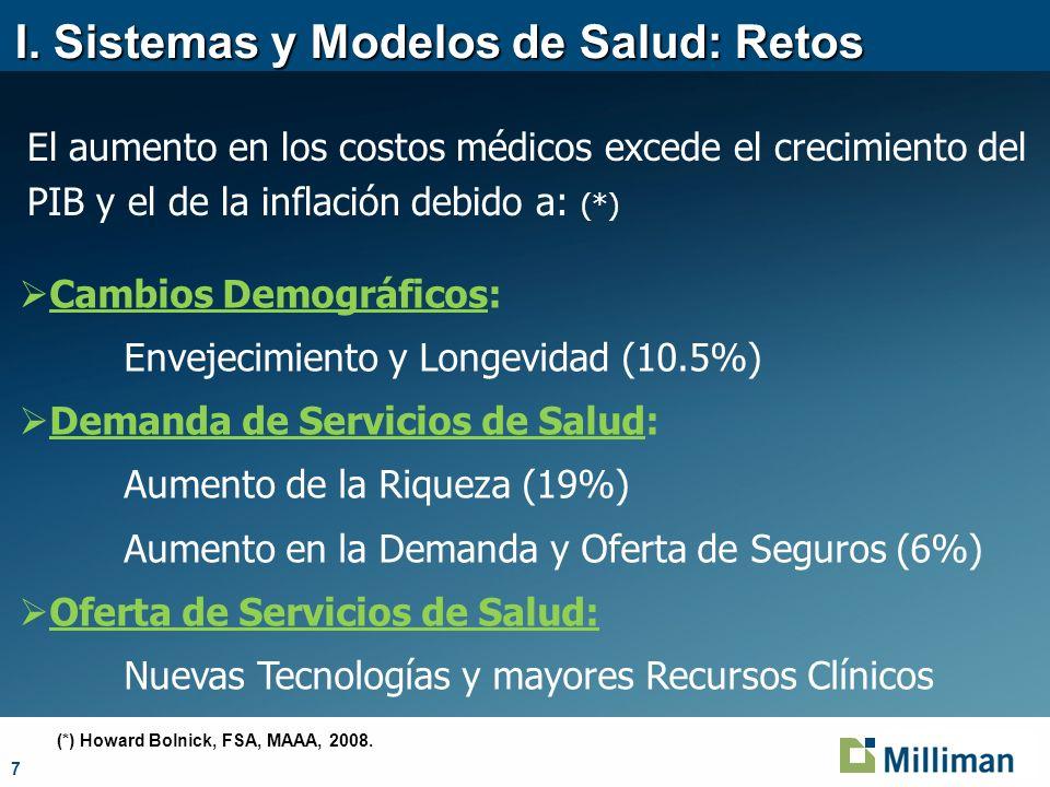 I. Sistemas y Modelos de Salud: Retos
