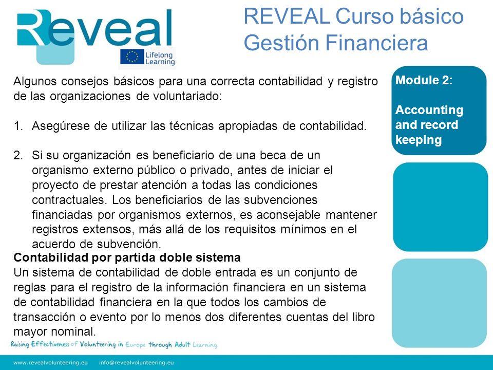 REVEAL Curso básico Gestión Financiera