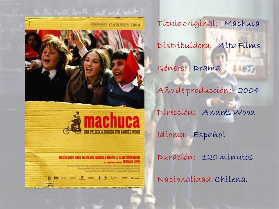 Título original: Machuca