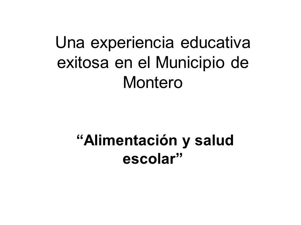 Una experiencia educativa exitosa en el Municipio de Montero