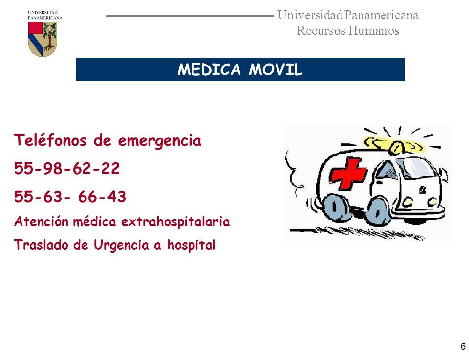 Teléfonos de emergencia 55-98-62-22 55-63- 66-43