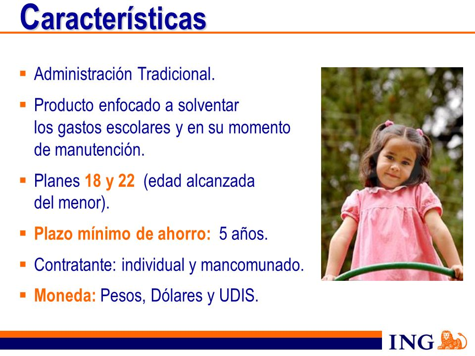 Características Administración Tradicional.