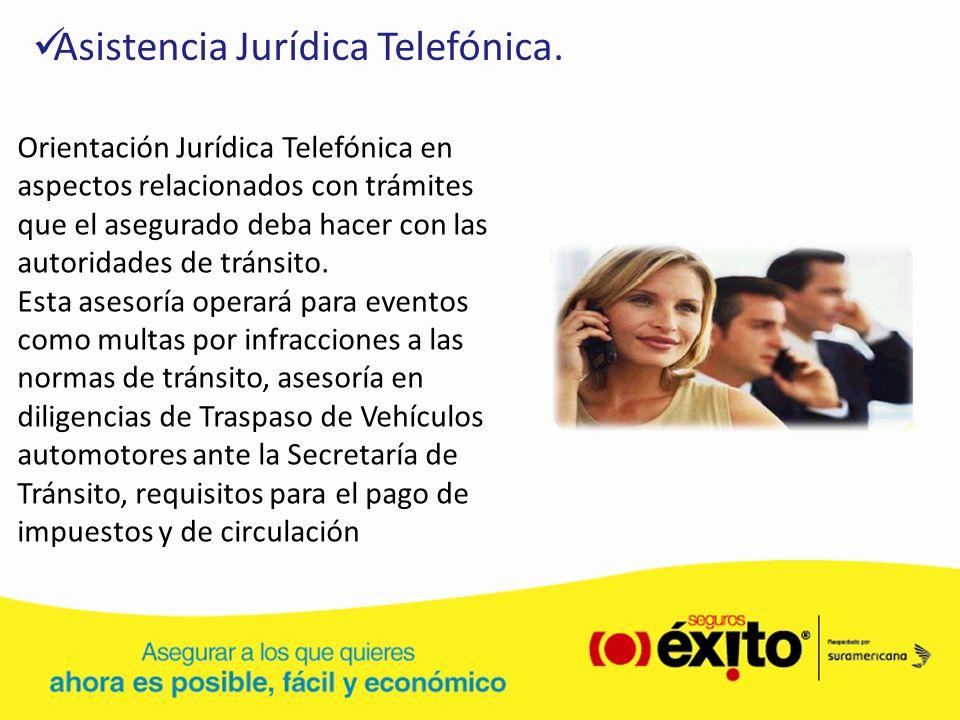 Asistencia Jurídica Telefónica.