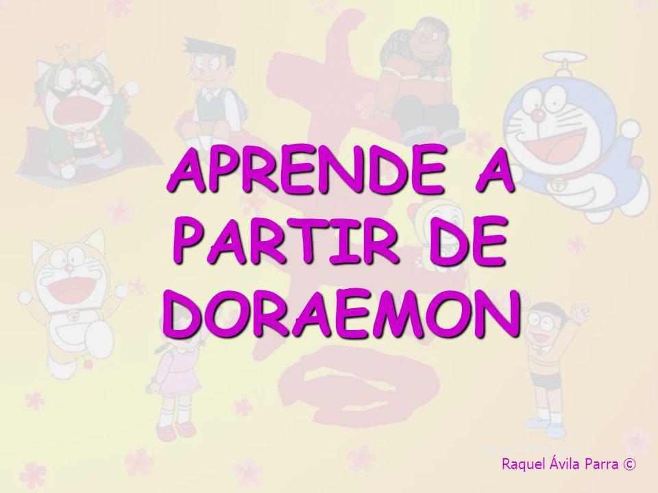 APRENDE A PARTIR DE DORAEMON