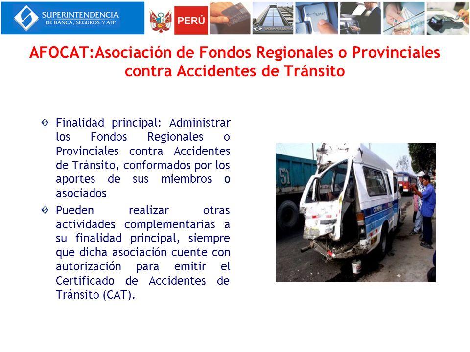AFOCAT:Asociación de Fondos Regionales o Provinciales contra Accidentes de Tránsito