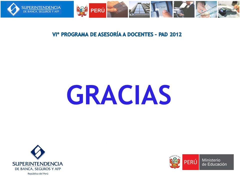 viº programa de asesoría a docentes – pad 2012