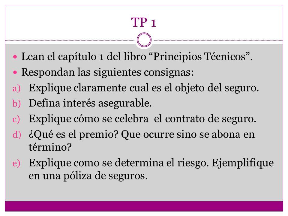 TP 1 Lean el capítulo 1 del libro Principios Técnicos .