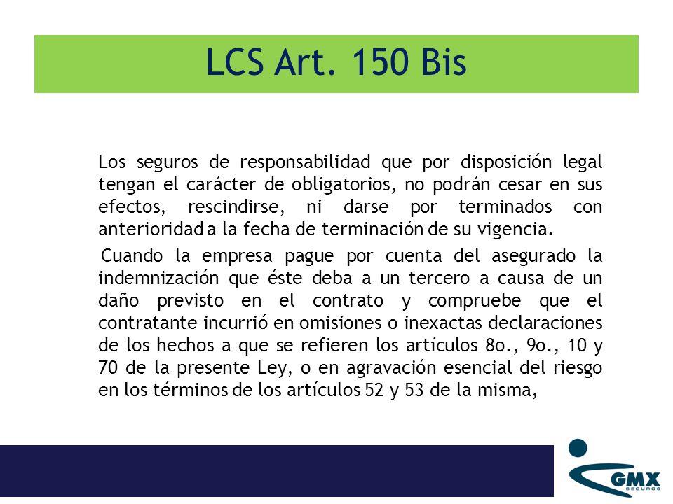 LCS Art. 150 Bis