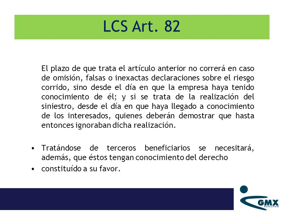LCS Art. 82