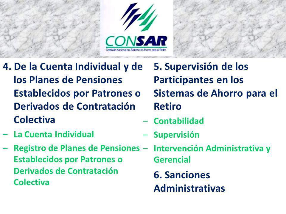 6. Sanciones Administrativas