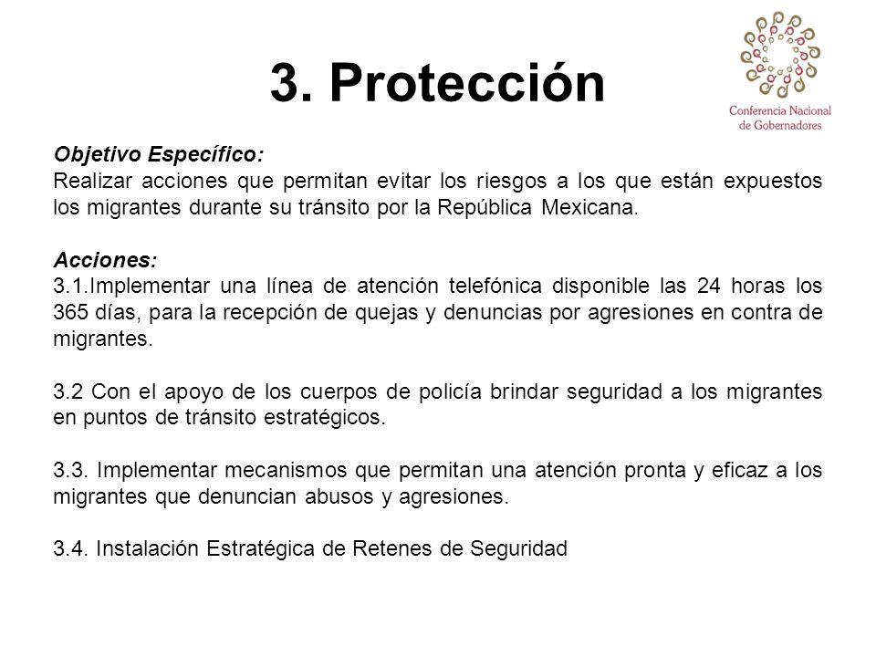 3. Protección