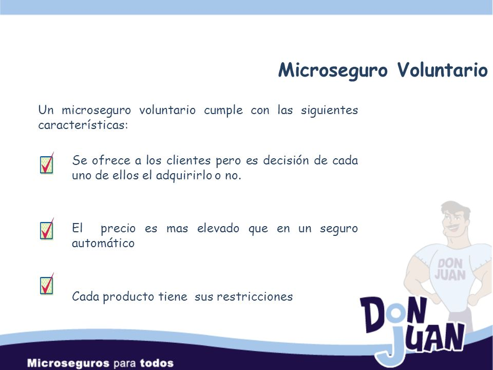 Microseguro Voluntario