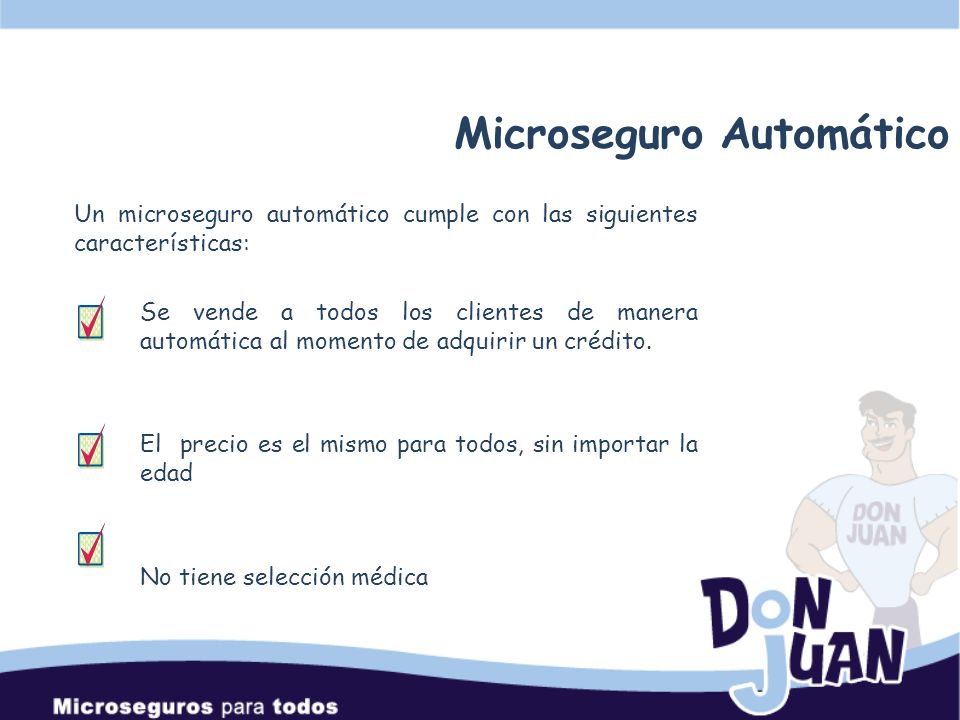 Microseguro Automático
