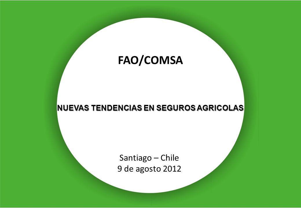 FAO/COMSA Santiago – Chile 9 de agosto 2012