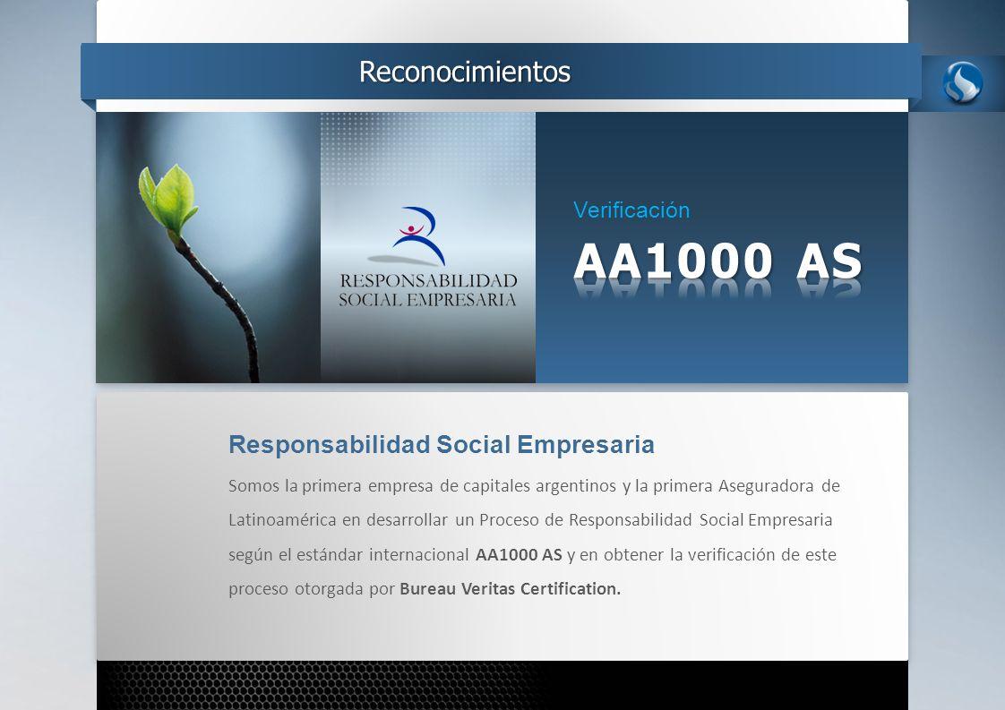 AA1000 AS Reconocimientos Responsabilidad Social Empresaria