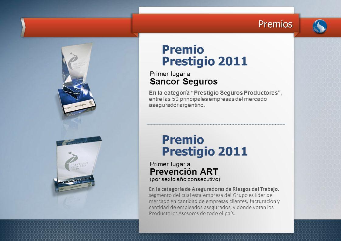 Premio Prestigio 2011 Premio Prestigio 2011 Premios Sancor Seguros