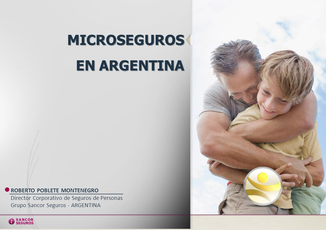 MICROSEGUROS EN ARGENTINA ROBERTO POBLETE MONTENEGRO