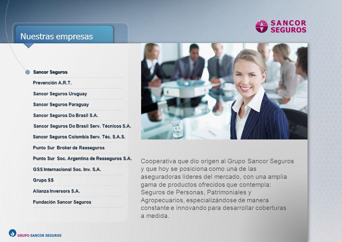 Sancor Seguros Sancor Seguros. Prevención A.R.T. Sancor Seguros Uruguay. Sancor Seguros Paraguay.