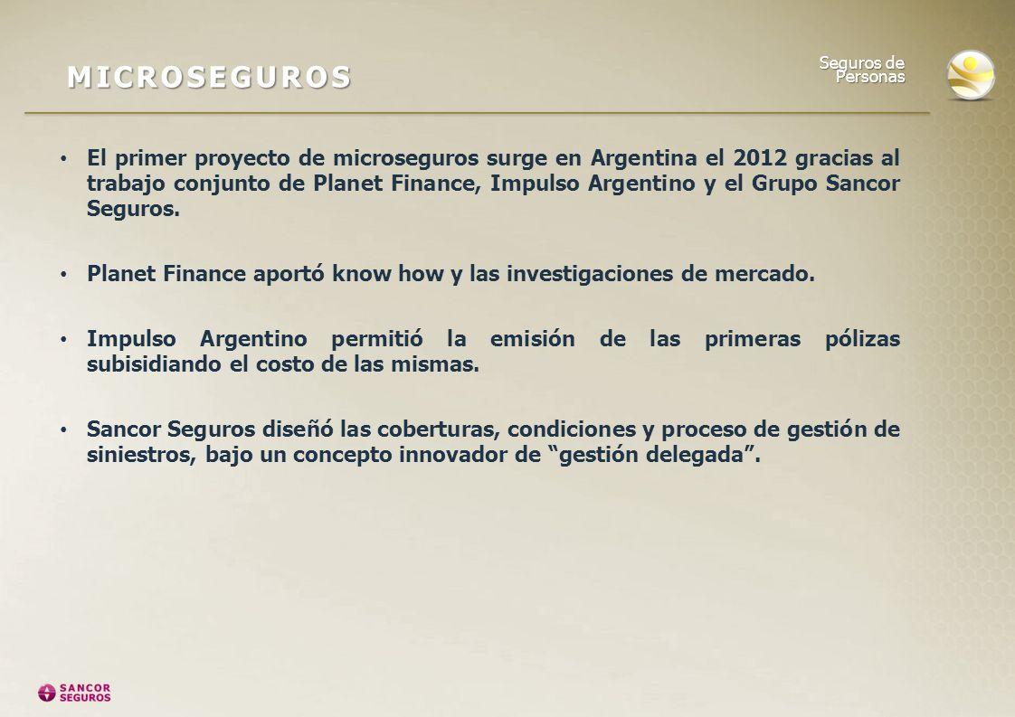 MICROSEGUROS Seguros de Personas.