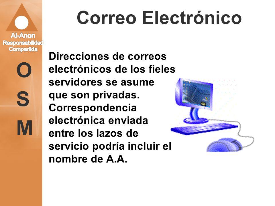 OSM Correo Electrónico