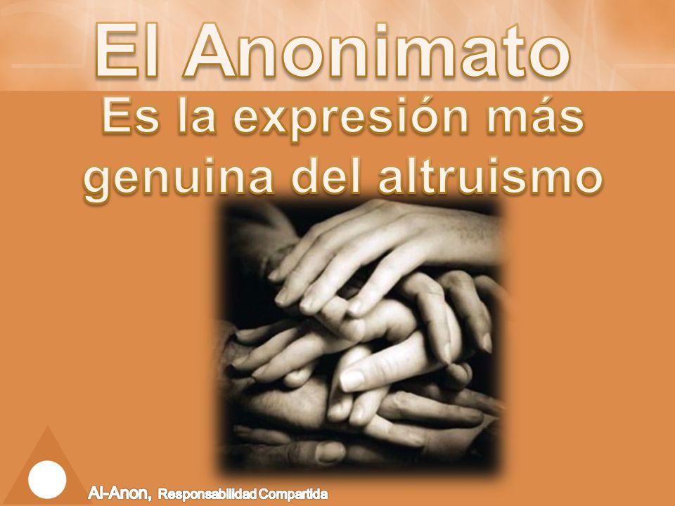 Es la expresión más genuina del altruismo