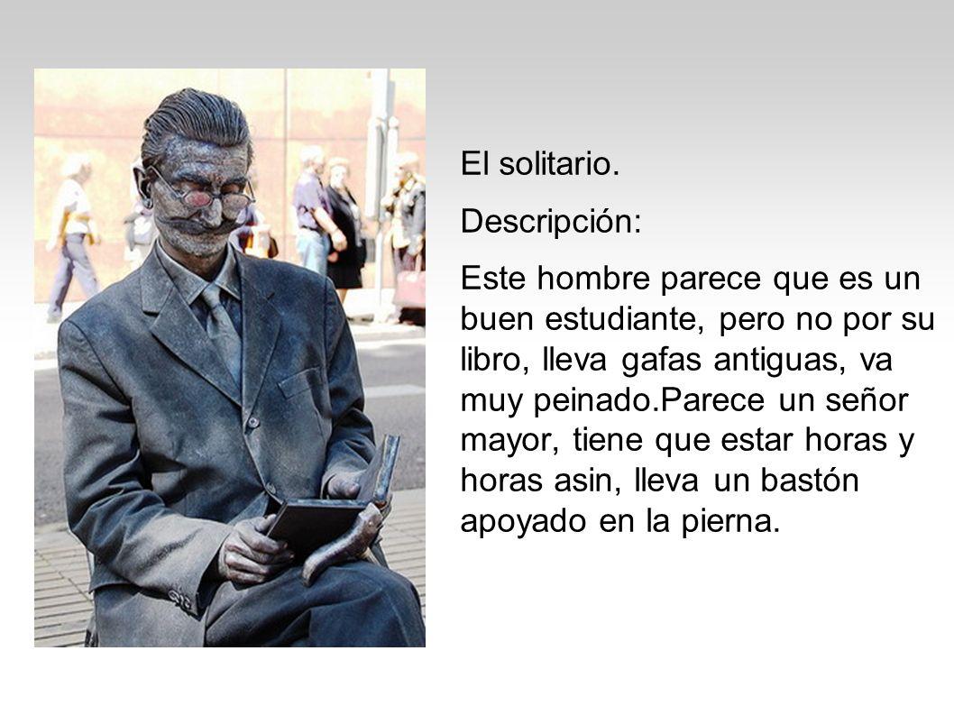 El solitario. Descripción: