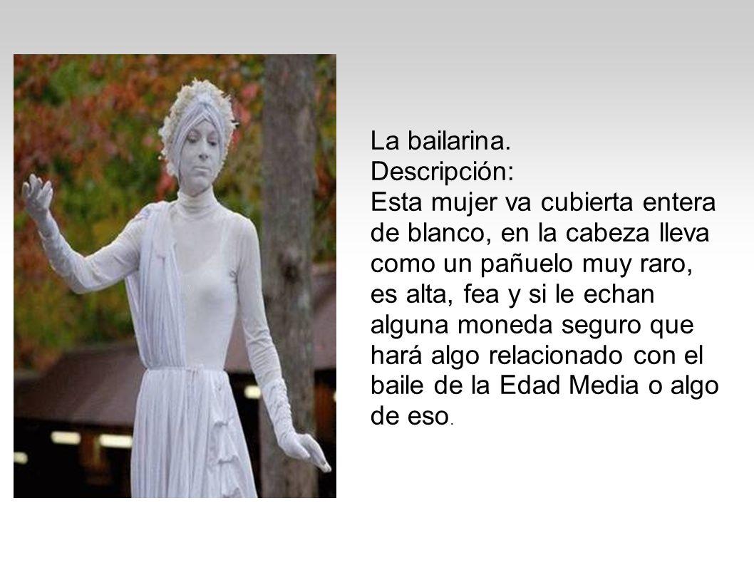 La bailarina. Descripción: