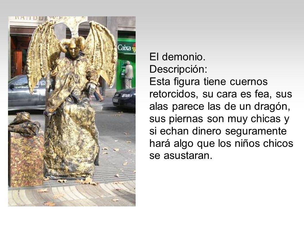 El demonio. Descripción: