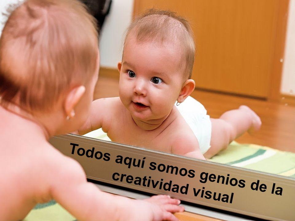 Todos aquí somos genios de la creatividad visual