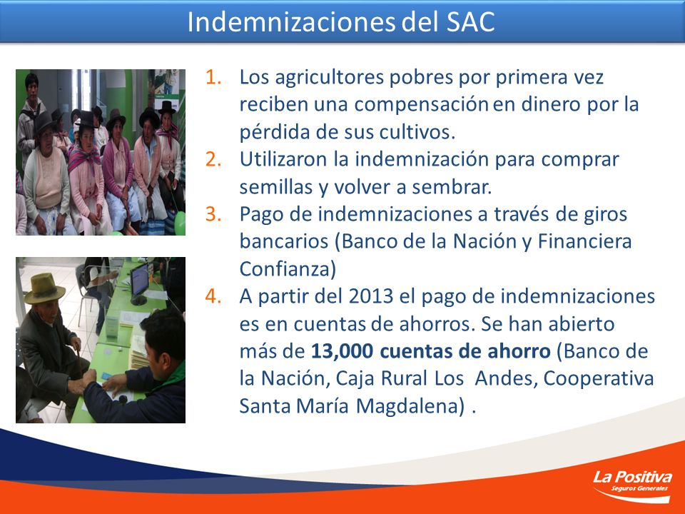 Indemnizaciones del SAC